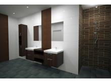 BIM Render scene - bathroom