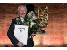 Hasse Persson mottagare av Gullsaxarna 2015