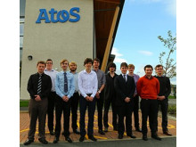 Atos boosts its Forres team with new apprentices