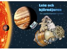 Leia och björndjuren (omslag - fri användning). Illustration: Lovisa Lesse