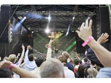 Albin Myers på Summerburst Festival 2012