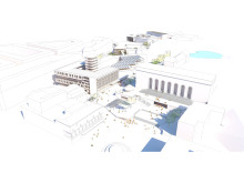 Campus Näckrosen, Göteborgs universitet, parallella uppdrag Götaplatsen, Jais arkitekter