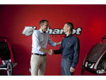 Thule Group och Chariot Carriers Inc är överens om Thules bud på företaget.