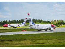 Two NAS Aircraft