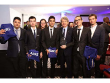 Comfort Train from ENSEIRB-MATMECA in France wins the 2015 Atos IT Challenge