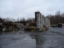 Stödmur och brandskydd