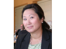 Ann-Catherine Kroon, leg audionom m m, jobbar ideellt med ett flertal olika uppgifter inom kyrkan