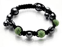 Dråoe discoballs armbånd grønn