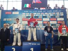 Dag Jomar Mersland fra Værnes Taekwon-Do klubb vant EM gull