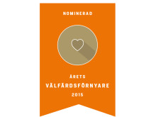 Nominering årets välfärdsförnyare