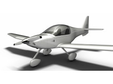 Flight & Safetys miljövänliga nöjesflygplan, ECO1 - prototypskiss