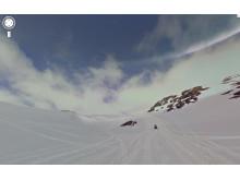 Panoramabild Street View Björkliden