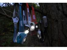 Petzl Performance series - avancerat ljus för multisportare, skidåkare och trailrunning