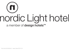 Nordic Light Hotel logo, black