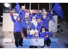 Norska YETI vann SM i snöbollskrig