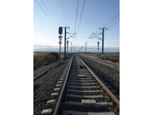 Signalsystem på höghastighetslinje i Spanien
