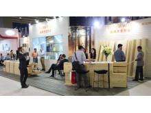 Svenskt trä på CIFM Interzum i Guangzhou