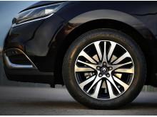 Renault Espace utrustade med Dunlop-däck