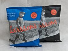Världspremiär för Larssons Chips med smak av lakrits