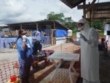 Anders Håkanson på ebolaklinik i Sierra Leone