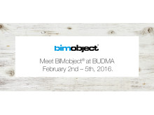 Meet BIMobject® at BUDMA
