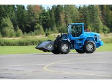 Volvo L60G PCP - världsrekord med 120 km/tim den 11 september 2012 (1)