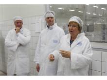 Invigning ostförädlingen Umeåmejeri