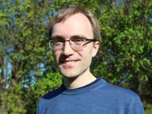 Andreas Håkansson. FRI ANVÄNDNING. Foto: Fabian Rimfors/Högskolan Kristianstad
