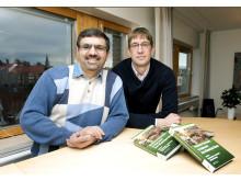 Mohammad Taherzadeh och Tobias Richards
