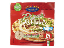 Santa Maria Tex Mex Pizza Tortilla