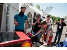 Skuffelse i NTNU-leieren etter siste forsøk med Urban Concept-bilen