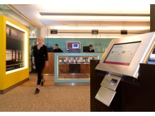 Qmatic CFM och kösystem på bank
