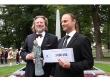 Grunnlegger av gatemagasin fikk Reitangruppens verdipris på to millioner