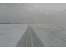 Panoramabild Street View Estniska isvägar
