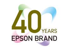 Merkevaren Epson er 40 år