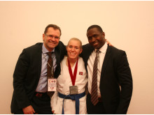 Gitte vant VM sølv i karate