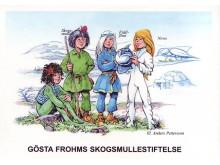 Logotype Gösta Frohms Skogsmullestiftelse