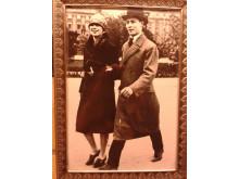 Helmer -en av bröderna Hansson här med sin hustru Karin