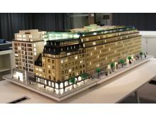 Sveavägen 44 i LEGO, vy från hotellet