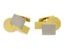 Exklusiva 23/11, Nr: 89, WIWEN NILSSON, manschettknappar, 18K guld/vitguld,