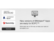 New versions of BIMobject® Apps are ready for BOPC™