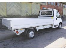 Nya påbyggnationer på Peugeot Boxer