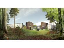 Nya student- och forskarbostäder i Luleå
