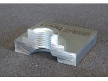 Essve Tech stansmutter i 10 mm stål Genomskärning 1