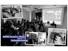 Smyglansering SWINX ScanLev 2015.0 på seminarium i Linköping
