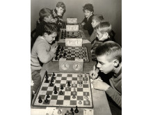 Schacktävling för ungdomar, Foto: Karl Heinz Hernried, © Nordiska museet
