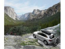 Thule Dynamic takbox och Thule EuroClassic G6 - lifestyle bild
