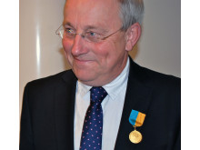 Claes Tingvall får MHF:s guldmedalj