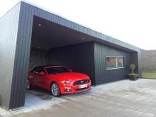 Ford Mustang på tur i Nordjylland - 3