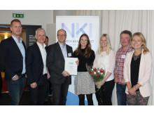 Veidekkes projekt vinner pris för årets nöjdaste bostadsköpare